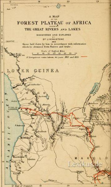 geographische karten afrika