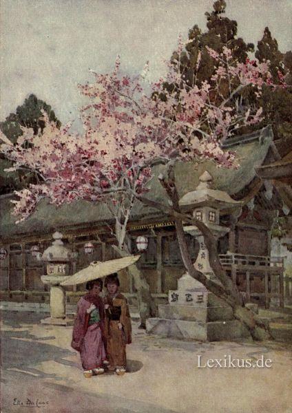 Traumdeutung in japan lexikus for Klassisches japanisches haus