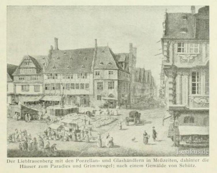 Ludwig von h rnigk 1600 1667 f hrender deutscher jurist for Liebfrauenberg frankfurt