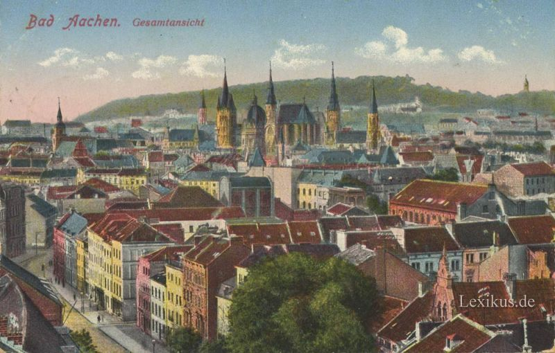 Geschichte Aachens Von Seinen Anf Ngen Bis Zur Neuesten