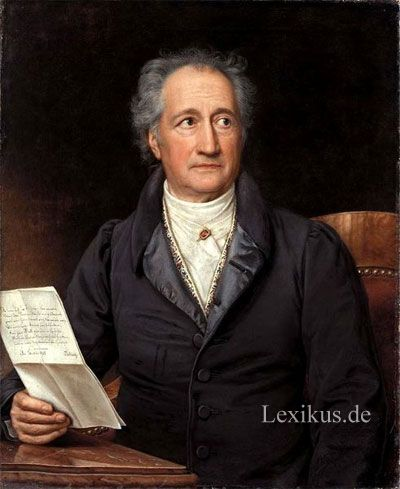 Zitate Von Johann Wolfgang Von Goethe Deutscher Dichter
