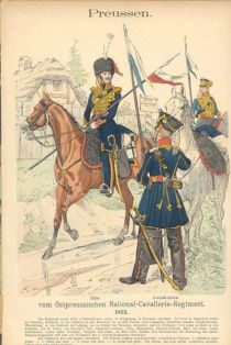 Ostpreußisches National-Kavallerie-Regiment, Preußen