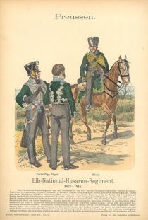 Elb-National-Husaren-Regiment. Preußen. 1813-1815