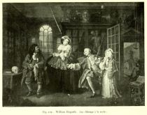 101 William Hogarth. Aus Mariage à la mode