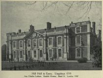 003. Hill Hall in Essex. Umgebaut 1719. Aus Charles Latham. English Homes. Band II. London 1907