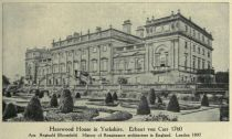 005. Harewood House in Yorkshire. Erbaut von Carr 1760 Aus Reginald Bloomfield. History of Renaissance architecture in England. London 1897