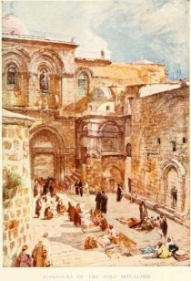 Forecourt of the Holy Sepulchre.