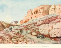The Rock-Cut Tombs of the Valley of Jehoshaphat.