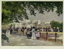 London, Hyde Park Corner From Rotten Row