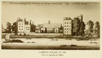 London, Lambeth Palace in 1647+