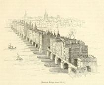 London, London Bridge 1616