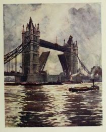 London, the Tower Bridge
