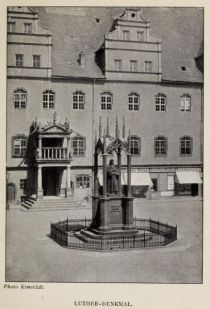 Wittenberg Luther-Denkmal