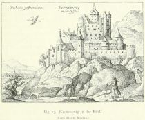 Fig. 13. Kronenburg in der Eifel. (Nach Matth. Merian.)