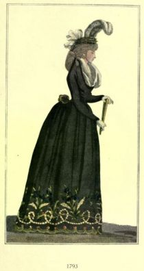 Damenmode Paris 1793