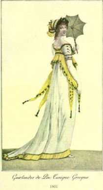 Damenmode Paris 1801