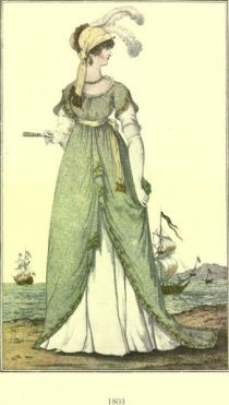 Damenmode Paris 1803