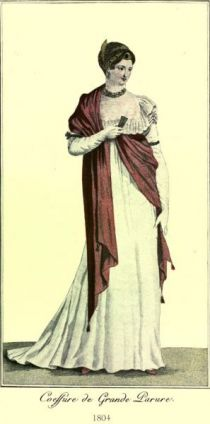 Damenmode Paris 1804