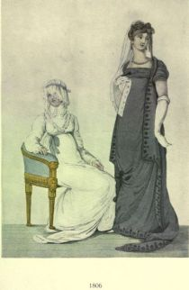 Damenmode Paris 1806