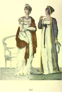 Damenmode Paris 1807