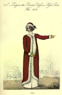Damenmode Paris 1808
