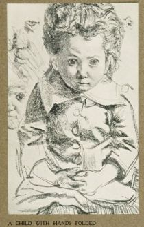 4. A CHILD WITH HANDS FOLDED