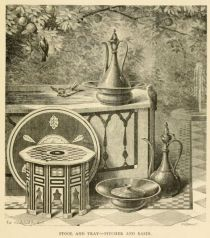 031 Stool and Tray - Pitcher and Basin