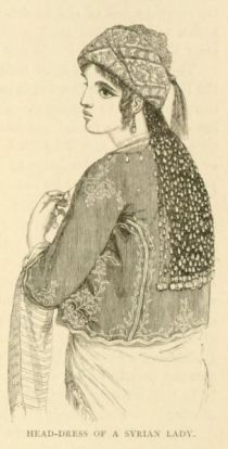 035 Head-Dress of a syrian Lady
