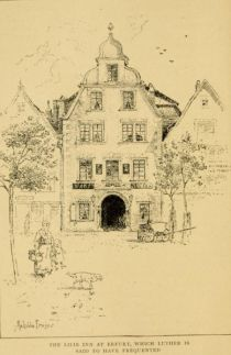 06. The Lilie Inn at Erfuhrt, which Luther is said to have