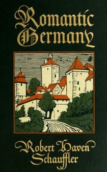 Romantic Germany, Cover 1909