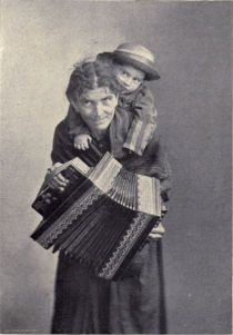 60 Accordion Player.