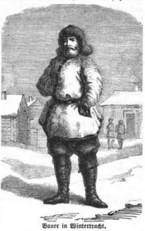 045 Bauer in Wintertracht