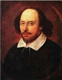 Shakespeare, William (1564-1616) englischer Dramatiker, Schauspieler, Lyriker