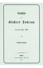 Die Geschichte des Klosters Doberan bis zum Jahre 1300